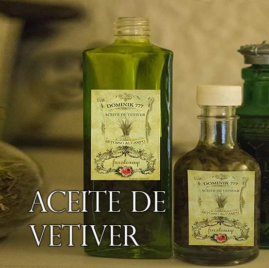 aceite vetiver